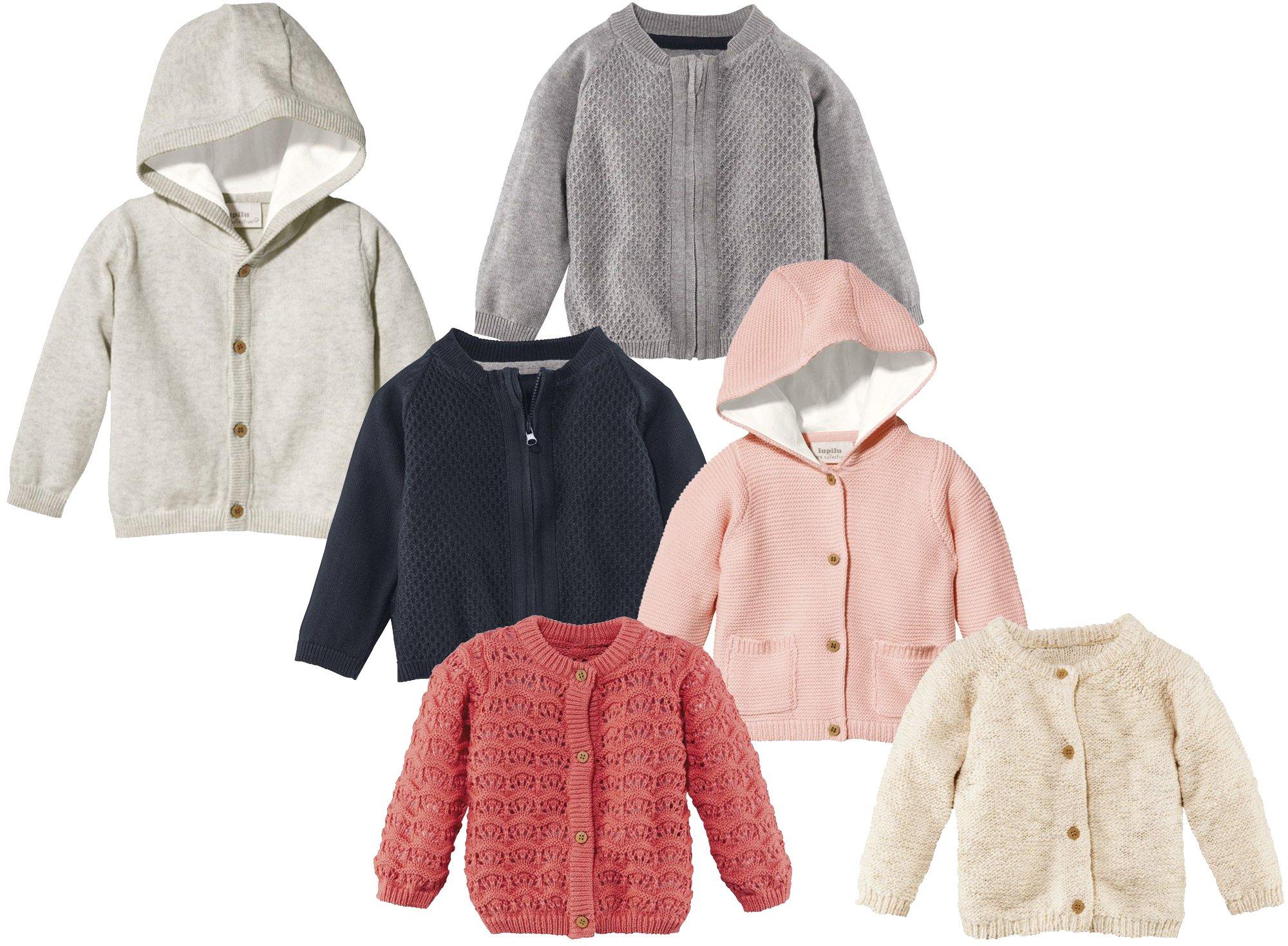 lupilu® Baby Mädchen Strickjacke aus 100% Bio-Baumwolle
