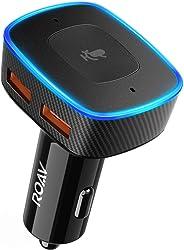 Roav VIVA von Anker, Alexa-fähiges 2-Port USB-Autoladegerät für GPS, freihändiges Telefonieren & Musikwiedergabe, Kompatibel