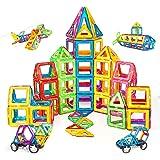 Condis 120 Piezas Bloques de Construcción Magnéticos para Niños, Juguetes Niños de 3 4 5 6 7 8 Años Juegos Magneticos Educati
