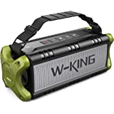 Cassa Bluetooth, W-KING 50W(Picco 70W) Altoparlante Bluetooth Portatili, 24 Ore di Riproduzione Speaker, 8000mAh Batteria Pow