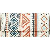 ShopMantra Canvas Vector Tribal Ethnic Pattern Multicolour Women's Wallet