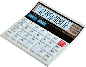 SaleOn™ 12 Digit Financial and Business Calculator(White)-672