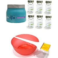 L'Oreal Hair Spa Set of 9 (Smoothing Mask+ Hydrating Ampoules+ Mixing Bowl+ Dye Brush) with Ayur Product in Combo