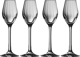 Galway Crystal 32005/4 Erne Sherry/Liqueur (Set of 4) Snifter Glasses, Transparent