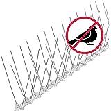 3 meter duivenafwering: vogelspikes/vogelgaas als duivenverschrikking en vogelbescherming – conform de 4 rijen