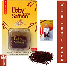 Baby Saffron with Trial Pack (1g)