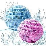 WELLXUNK® Boules de Lavage, Boule de Lavage écologique réutilisable, Boule à Linge Naturelle, Antibactérien et durable, Boule