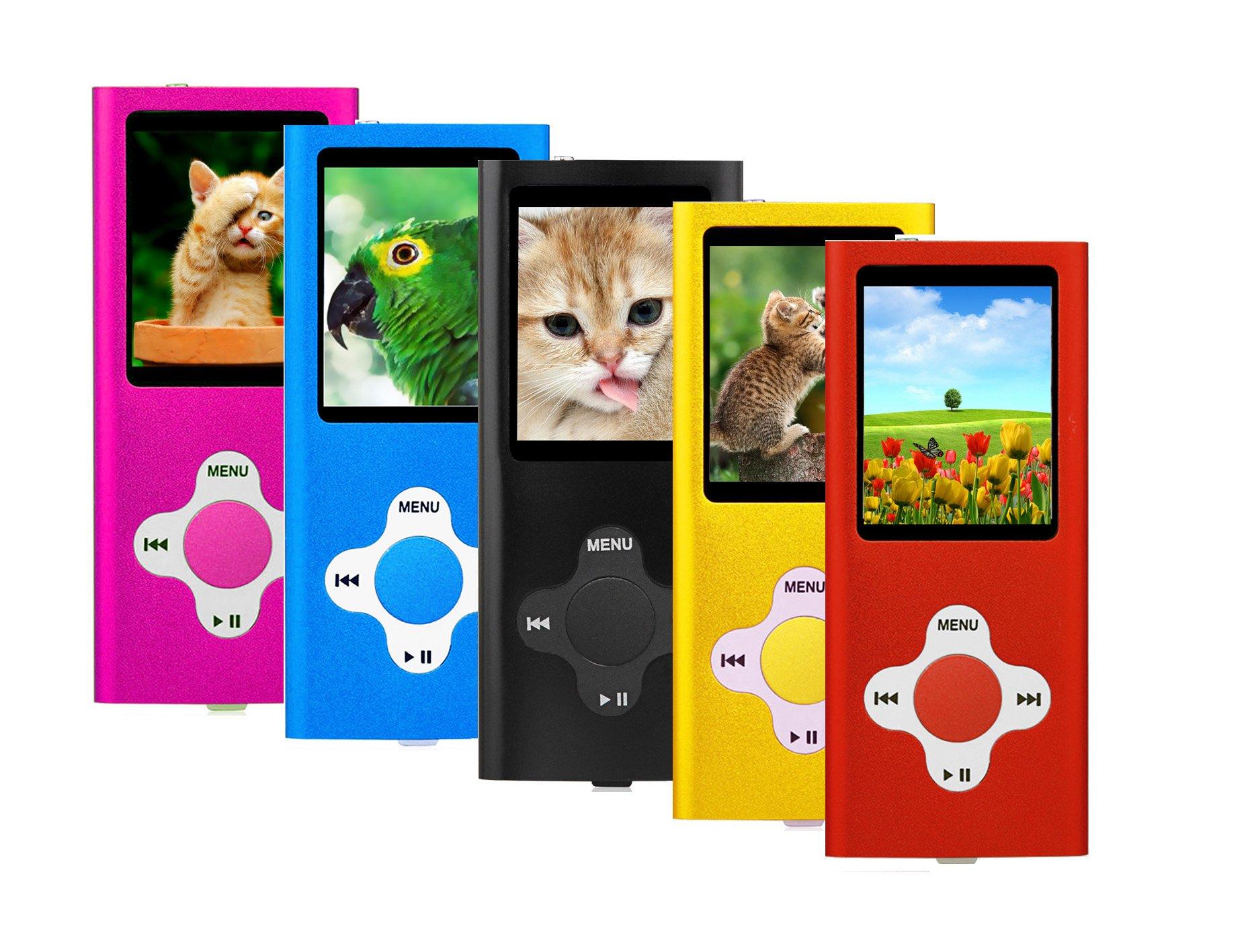 ES traders® 16 GB, lettore MP3, lettore musicale 4a generazione con Radio FM, registratore vocale e