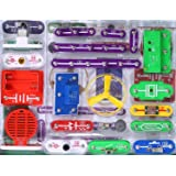 EZLink 335 DIY Circuit Experiments,Science Kits,Electronic Discovery Kit Toy for Kids,Kids Circuits,Kids Circuit Kit,Science