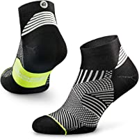 Rockay Flare Running Socks for Men and Women, Cushion, Quarter Cut, Arch Support, 100% Recycled, Anti-Odor