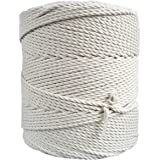 Macrame Draad 3 mm / 4 mm 1,5 kg 3 strand twisted - 3PLY Gekleurd Katoenen Koord voor Macrame Dromenvanger, Muur Hanger, Plan