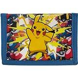 Pokemon Pikachu - Lightning Strike! - Coin & Card Tri-Fold Wallet