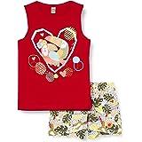 Tuc Tuc Conjunto Camiseta Y Short Punto Estampado NIÑA Rojo Tropical Jungle