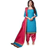 RANI SAAHIBA Women's Pure Cotton Printed Fully stitched Salwar Suit