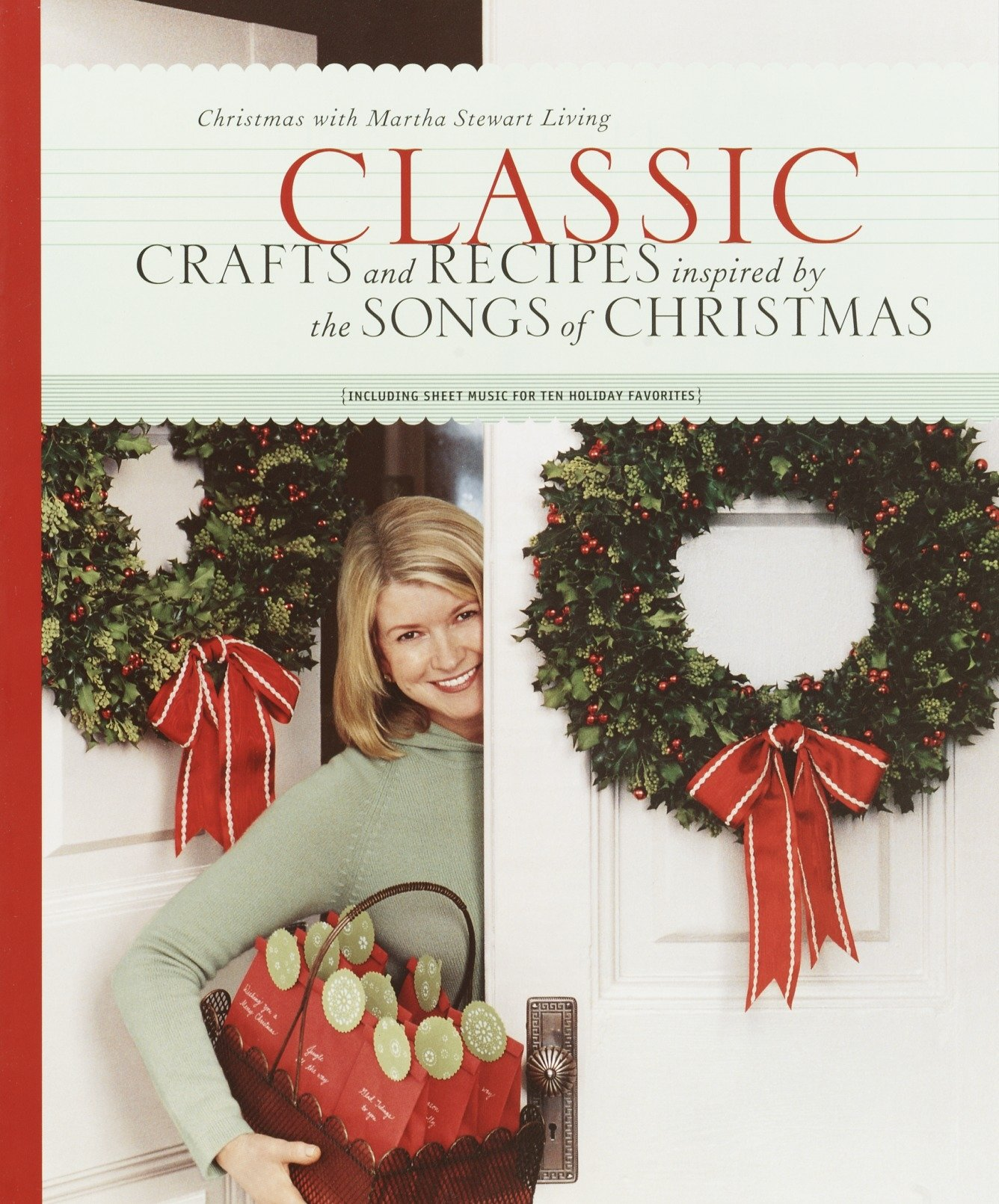 813MUUd6kqL - Classic Crafts and Recipes Inspired by the Songs of Christmas: Christmas With Martha Stewart Living