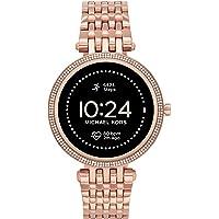 Michael Kors Gen 5E (43 mm, Rose Gold ) Darci stainless steel Touchscreen Women's Smartwatch with Speaker, Heart Rate…