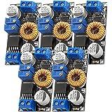 AZDelivery 5 x Spänningsomvandlare 5A 8-36V till 1,25-32V XL4015 kompatibel med Arduino inklusive en E-Book!