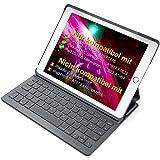 """Inateck Ultra Slim Tastatur Hülle kompatibel mit 9.7"""" iPad 2018(6. Generation), iPad 2017(5.Generation) und iPad Air 1, Keyboard Case in QWERTZ Layout, BK2003"""