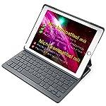 """Inateck Tastatur Hülle kompatibel mit 9.7"""" iPad 2018 , iPad 2017 und iPad Air 1, Ultra Slim Keyboard Case in QWERTZ..."""