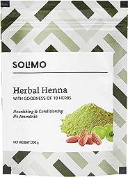 Amazon Brand - Solimo Herbal Henna, 200 g
