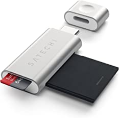 Satechi Aluminum Type C Micro/SD CARD Reader (Silver)