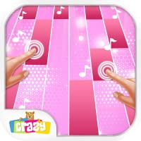 Magic with Pink Piano Tiles – Music Game