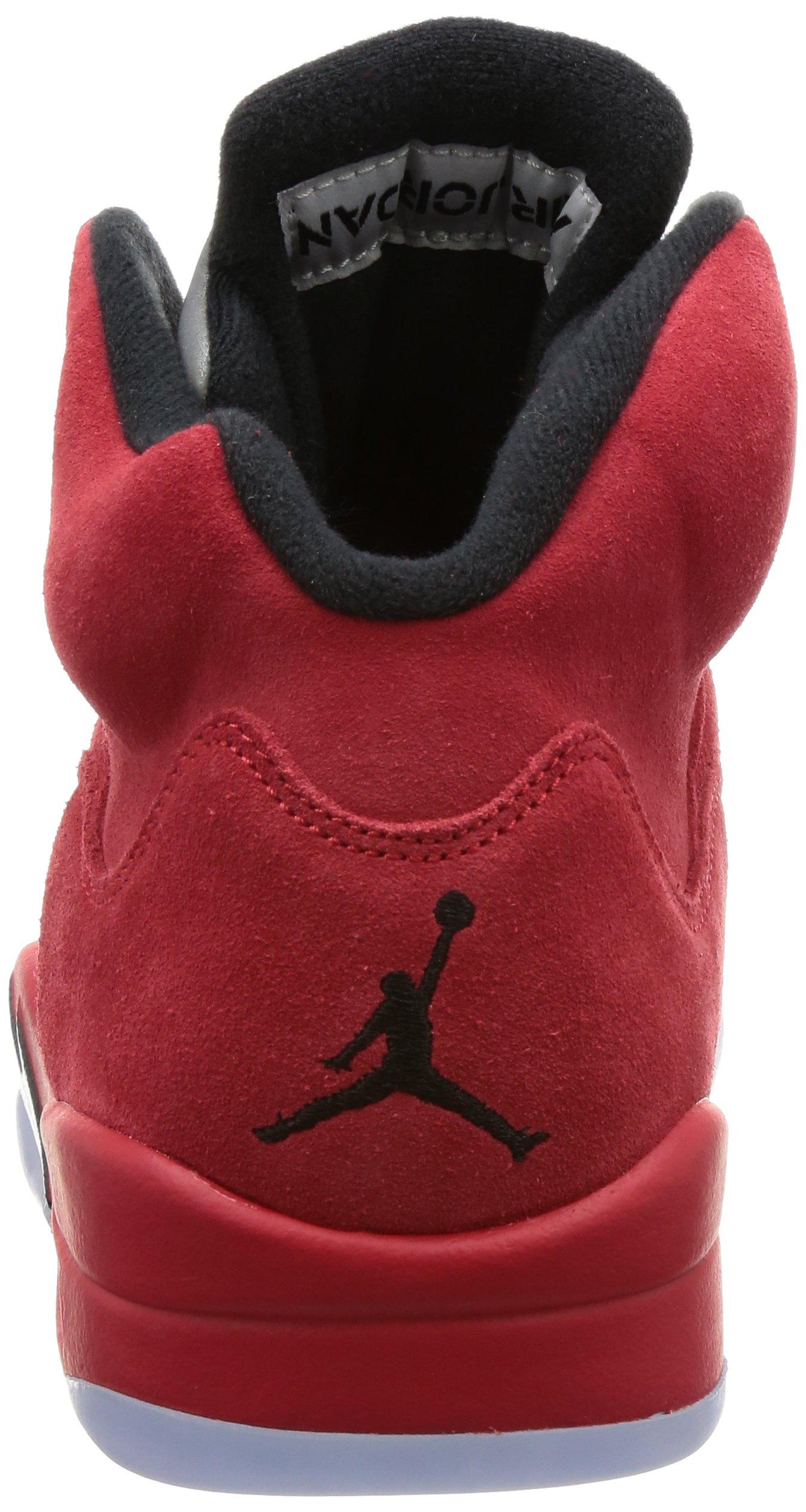 813QfkQ4eLL - Nike Air Jordan 5 Retro 'Red Suede' - 136027-602 - Size 9 -