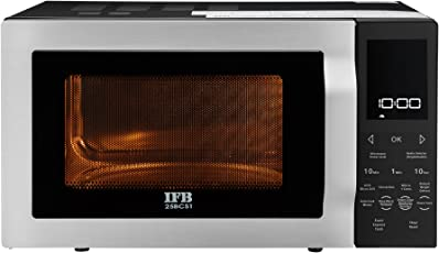 IFB 25 L Convection Microwave Oven (25BCS1, Black)
