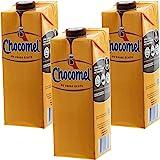 Chocomel - Set di 3 scatole di Cartone per Cioccolato, 1 l