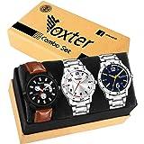 Foxter 3 Different Colour Watch Combo