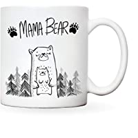 Mummy mug | Mama bear new presents for mum | novelty mugs women from daughter | christmas gift funny present mothers day…