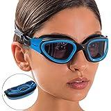 AqtivAqua DX Gepolariseerd Zwembril Met Brede Kijkhoek // Zwemtrainingen - Open Water // Outdoor en Indoor