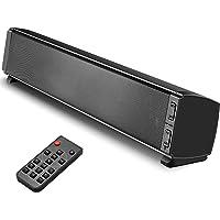 Soundbar Altoparlanti per PC e TV, Tensphy soundbar Bluetooth 5.0 da 120 dB con subwoofer integrato, audio surround per…