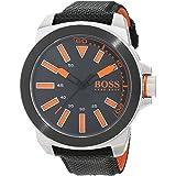 Hugo Boss Orange 1513116 Orologio al quarzo da uomo, display analogico classico e cinturino in gomma
