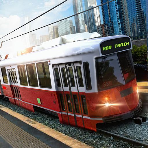 Mega City Metro Zug Fahrsimulator 3D: echte Straße Tourist Transporter U-Bahn Fahrer Zug Sim Adventure Mission 2018