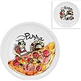 WAS 4911 280 Serie Italia Lot de 4 assiettes /à pizza en porcelaine /Ø 29 cm