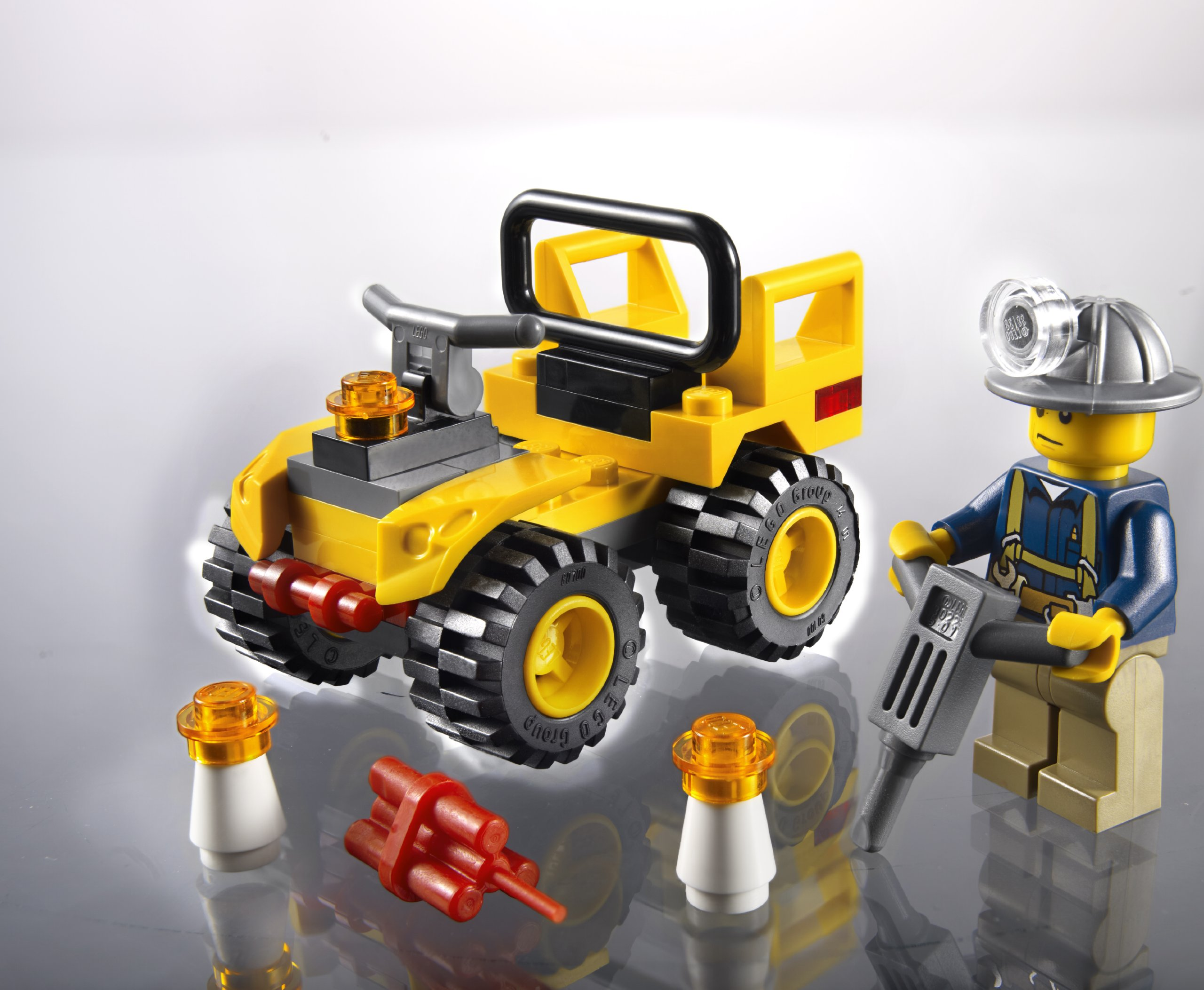 LEGO-City-Mining-Quad-Set-30152-Insaccato