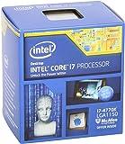 Intel Core i7 4770K Prozessor (3,5GHz, Sockel LGA1150, 8MB Cache) boxed