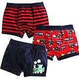 VAENAIT BABY 2T-7T Toddler Kids Boys Cotton or Modal Underwear Boxer Briefs 3pack or 4pack Set