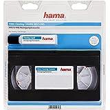 Hama Cassette vidéo de nettoyage (VHS / S-VHS / VHS-C / S-VHS-C, avec liquide de nettoyage pour nettoyage par voie humide) No