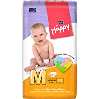 Bella Baby Happy Medium Diapers (18 Pieces)