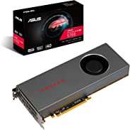 Asus AMD Radeon Rx 5700 PCIe 4.0 VR Ready Graphics Card with 8GB GDDR6 Memory and Support for up to 6 Monitors (RX5700-8G)