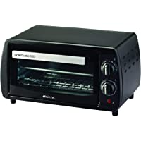 Ariete 980 – Mini Four 800 W, capacité de 10 l, minuterie et température, couleur noir