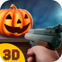 Halloween Holiday Pumpkin Shooter 3D: Crazy Halloween Pumpkin Smash Shooting Game | Halloween Hangman Pumpkin Gun Shooting