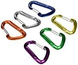 Mammut Karabiner Wall Light Sixpack Wire Gate.Assorted, One Size