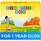 Einstein Box for 1 Year Old Boys/Girls | Gift Toys & Board Books for Kids | Learning and Educational Toys & Games | Pretend P