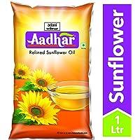 Aadhar Refined Sunflower Oil, 1L