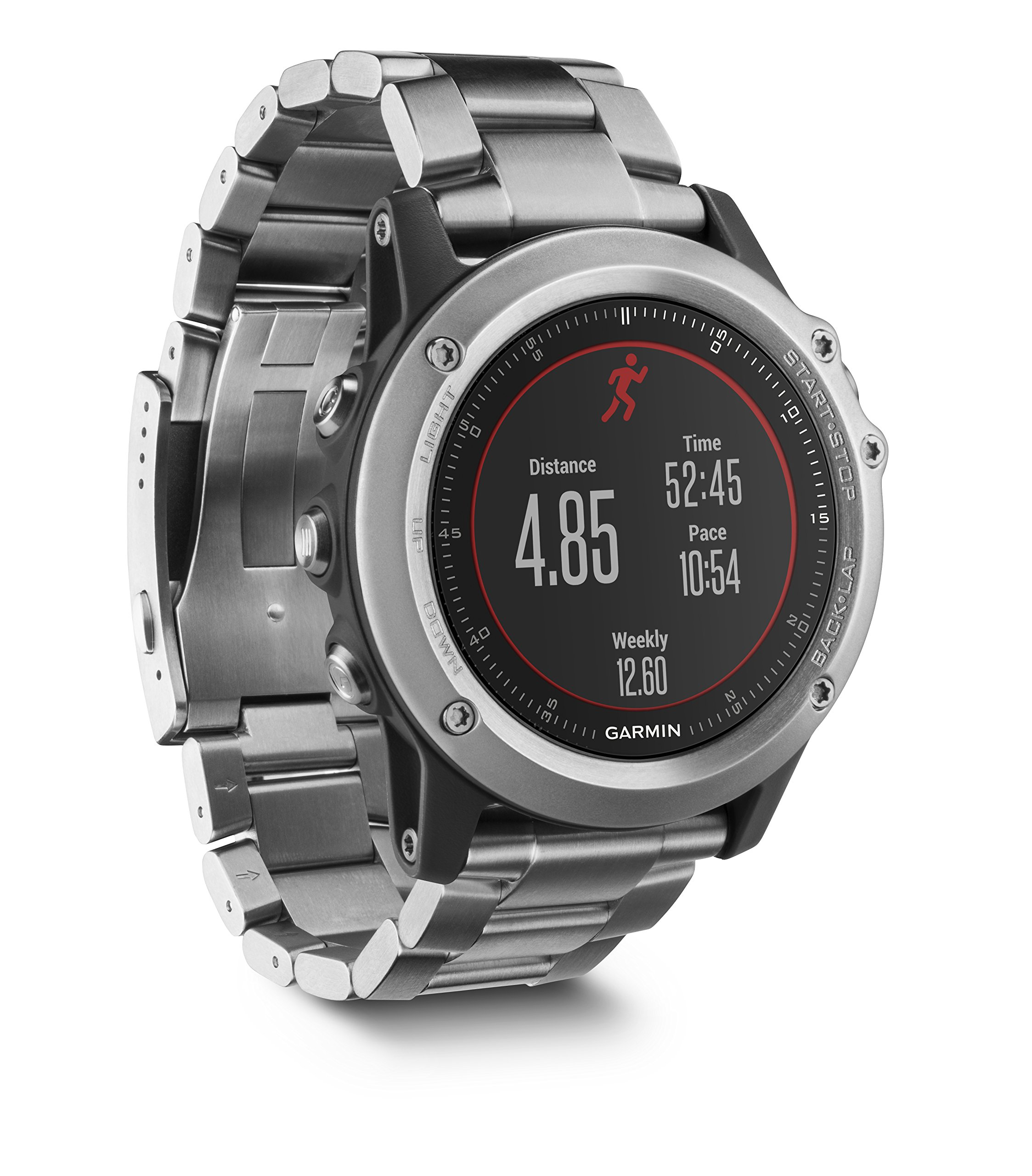 Garmin Fenix 3 HR Smartwatch GPS Multisport, Sensore Cardio al Polso, Display a Colori, Altimetro e Bussola, Nero/Grigio 1 spesavip