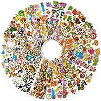 1000+ Gommettes Autocollants Enfant 2 Ans Animaux Fruits Légumes 3D Stickers Cadeaux Idéaux