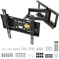 "RICOO R23-S Support TV Mural Orientable Inclinable Télévision 31-65"" (79-165cm) Fixation Murale Universel LED LCD…"